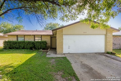 Bexar County Single Family Home New: 2814 Rod Schaffe