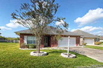 Schertz Single Family Home New: 3600 Hillside