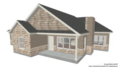 Comal County Single Family Home New: 1583 Log Cabin Ln