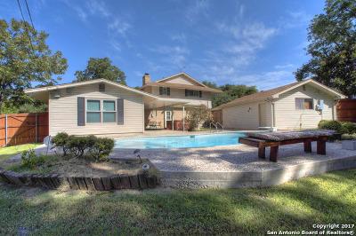 Bexar County Single Family Home Back on Market: 5410 Ben Hur St