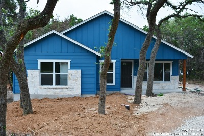 Comal County Single Family Home New: 1190 Chisolm Trl