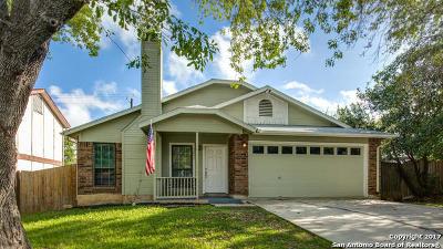 San Antonio Single Family Home New: 3311 Stoney Country