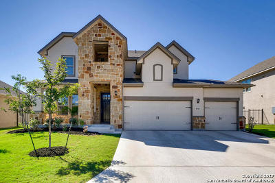 Fair Oaks Ranch Single Family Home New: 8010 Cibolo View
