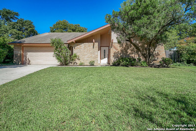 San Antonio Single Family Home New: 16322 Halifax St