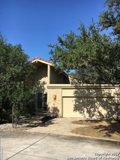 San Antonio Single Family Home New: 12006 Mission Trace St