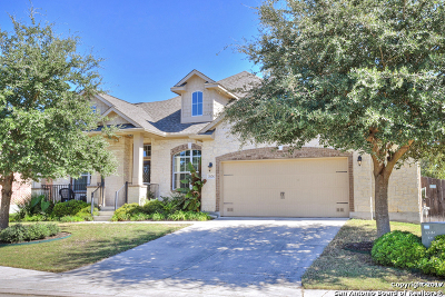 Boerne Single Family Home Back on Market: 26650 Callaway Run