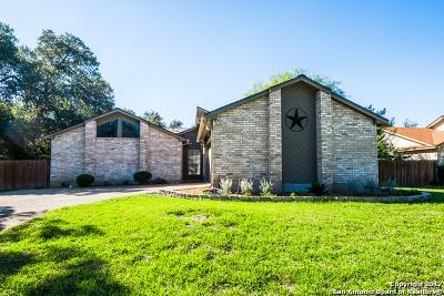 San Antonio Single Family Home New: 13711 Hunters Hawk St