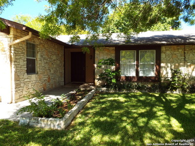 San Antonio Single Family Home New: 4027 Briar Hollow St