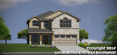San Antonio Single Family Home New: 22626 Akin Nook