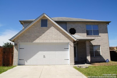 San Antonio Single Family Home New: 2103 Mossy Creek Dr