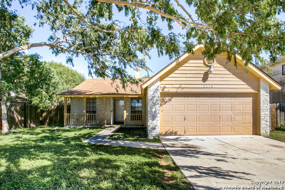San Antonio Single Family Home New: 3210 Buffalo Pass Dr