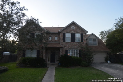 San Antonio Single Family Home New: 4623 Black Oak Woods