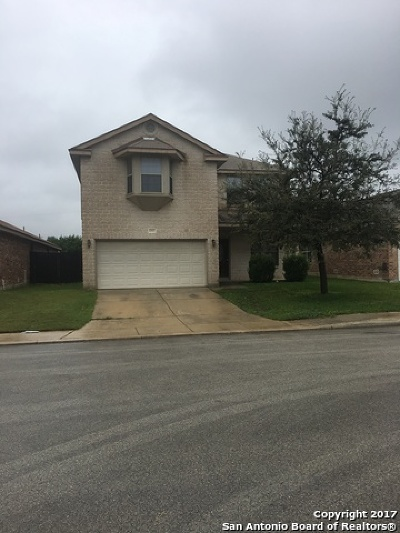 San Antonio Single Family Home New: 10407 Alsfeld Rnch