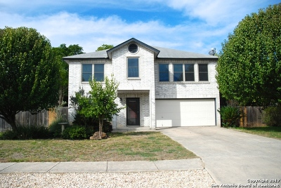 Boerne Single Family Home New: 102 Rock Canyon Dr