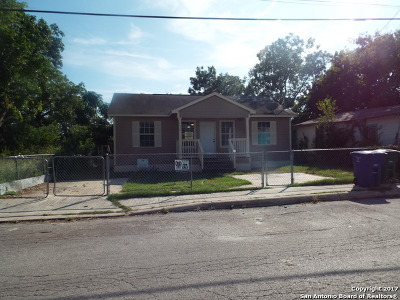 San Antonio Single Family Home New: 1618 San Carlos St