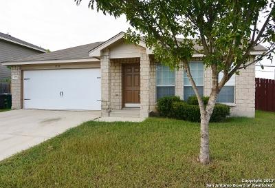 San Antonio Single Family Home New: 1207 Jordan Xing