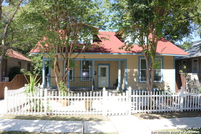 San Antonio Single Family Home For Sale: 1107 W Summit Ave