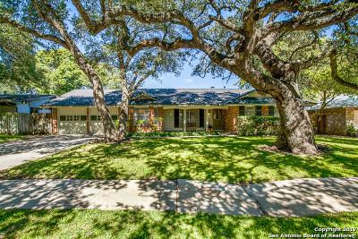 San Antonio Single Family Home New: 3519 Stonehaven Dr