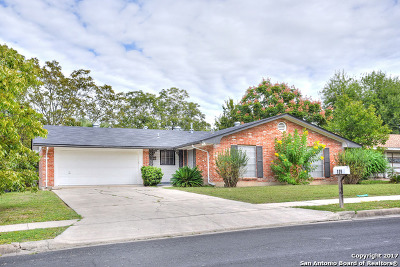 San Antonio Single Family Home New: 139 Fantasia St