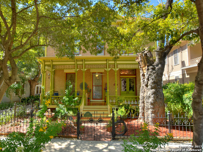 San Antonio Single Family Home For Sale: 229 Madison