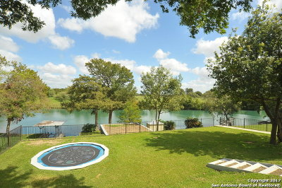New Braunfels Single Family Home For Sale: 2229 Waterford Grace