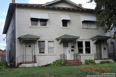 Bexar County Multi Family Home New: 119 Castillo Ave