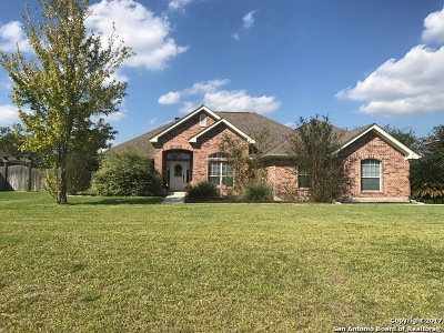 Guadalupe County Single Family Home New: 1460 Savannah Pr