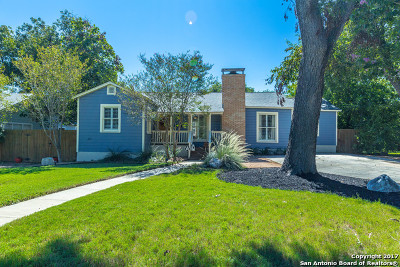 Alamo Heights Single Family Home For Sale: 266 Claywell Dr