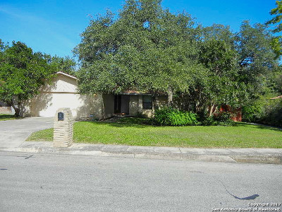San Antonio Single Family Home Back on Market: 14618 Bitternut Woods St