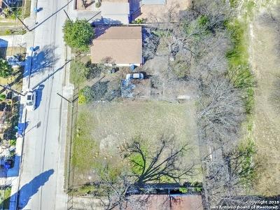 San Antonio Residential Lots & Land For Sale: 121 E Fest St