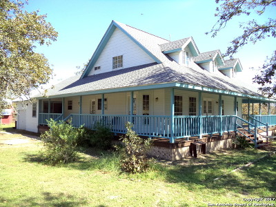 Guadalupe County Single Family Home New: 224 Sandy Oaks Dr