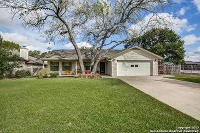 Boerne Single Family Home For Sale: 366 Chaparral Creek Dr
