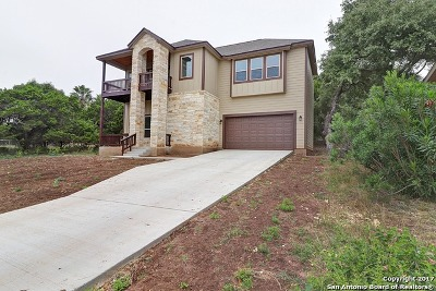 Comal County Single Family Home New: 1521 Skyline Hls