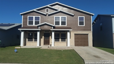 Bexar County Single Family Home New: 4930 Heather Pass
