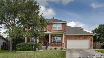 Bexar County Single Family Home New: 1127 Crystal Spring