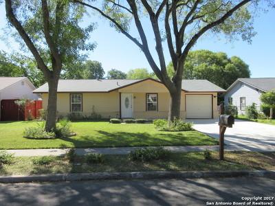 San Antonio Single Family Home New: 5838 Castle Run