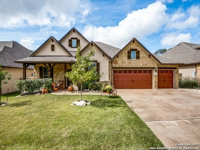 Boerne Single Family Home Price Change: 144 Autumn Rdg