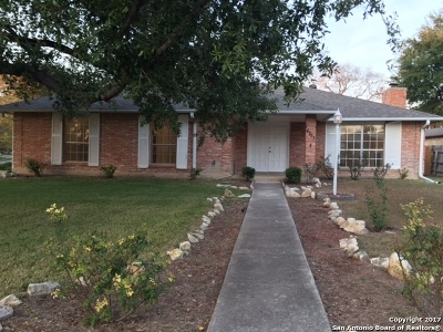 San Antonio Single Family Home New: 4703 S Pebble Glen