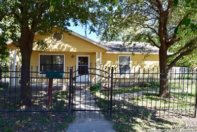 San Antonio Single Family Home New: 1811 W Travis St