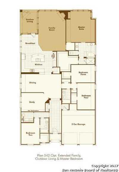 San Antonio TX Single Family Home New: $447,794