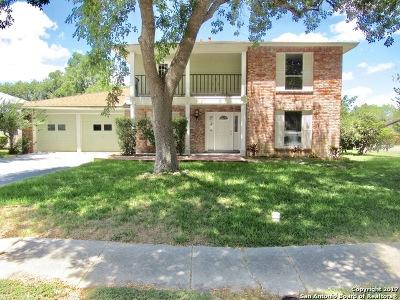 San Antonio TX Single Family Home New: $213,000