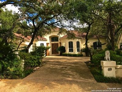 Elm Creek Single Family Home For Sale: 49 Westelm Cir