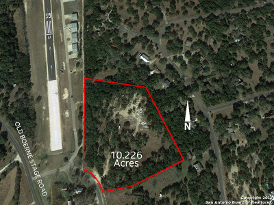 Residential Lots & Land Price Change: Old Boerne Stage