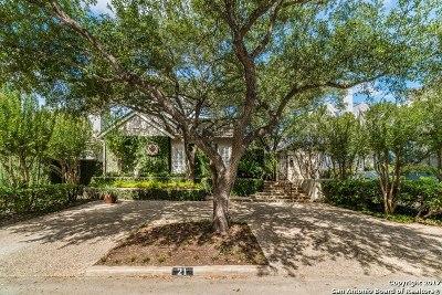 Terrell Hills Single Family Home For Sale: 21 Auburn Pl