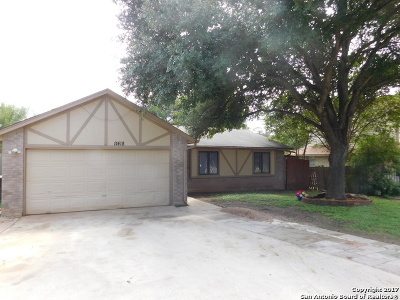 San Antonio Single Family Home Active RFR: 11418 Woollcott St