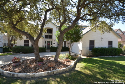San Antonio Single Family Home Back on Market: 18335 Edwards Bluff