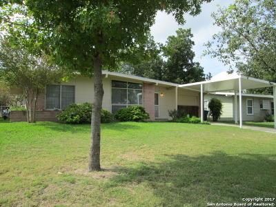San Antonio Single Family Home Back on Market: 130 Cyril Dr