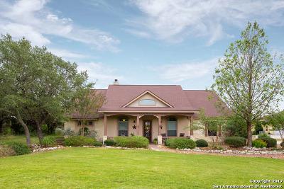 Canyon Lake Single Family Home For Sale: 558 Rebecca Creek Rd