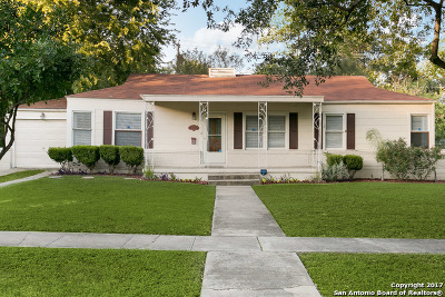 San Antonio Single Family Home Back on Market: 433 North Dr