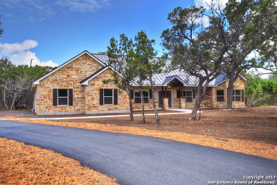 Bandera County Single Family Home For Sale: 333 Old Camp Rd
